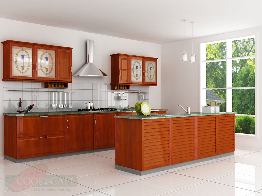 Modular kitchen designs modular kitchen and interiors for Sample modular kitchen designs