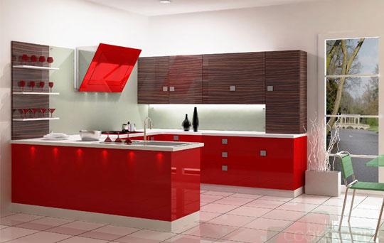 Kitchen renovation in chennai best renovation kitchen Modular kitchen designs red white